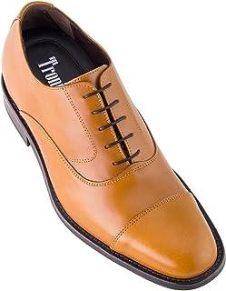 c34058c8 Masaltos Zapatos de Hombre con Alzas Que Aumentan Altura Hasta 7 cm.  Fabricados EN Piel