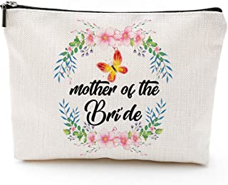 Mother Of The Bride Gifts,Waterproof Cosmetic Bag,Makeup Bag, Mother Bride, Mother Daughter Bride, Bridal Party Gifts,Gifts for mother bride