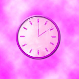 Cotton Candy Clock