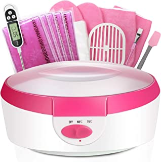 Paraffin Wax Machine for Hand and Feet - Paraffin Bath Ejiubas Quick Heating Paraffin Wax Warmer Paraffin Wax Bath Parafin...