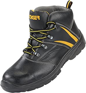 Mallcom Liger H High Ankle Safety Shoes (1 Pair), Size 7