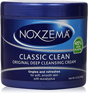 NOXZEMA Deep Cleansing Cream 12 Ounce, 2 Pack