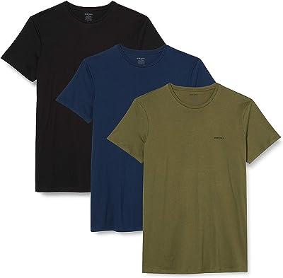 (ディーゼル) DIESEL メンズ Tシャツ 3パック ワンポイント 00SPDG0AALW