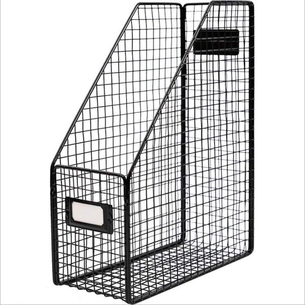 HEMFV Max free 70% OFF File Holder Desk Metal Organizer Wire Magaz