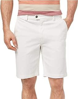 Tasso Elba Mens Chino Casual Khaki Shorts