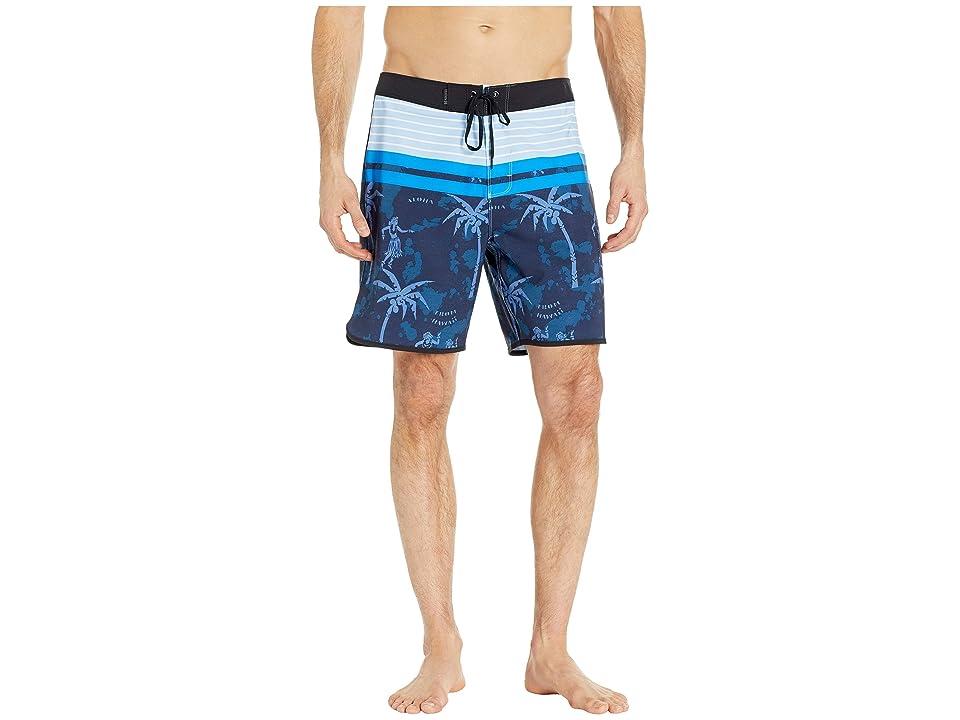 Hurley Phantom Aloha Twist 18 Boardshorts (Obsidian) Men