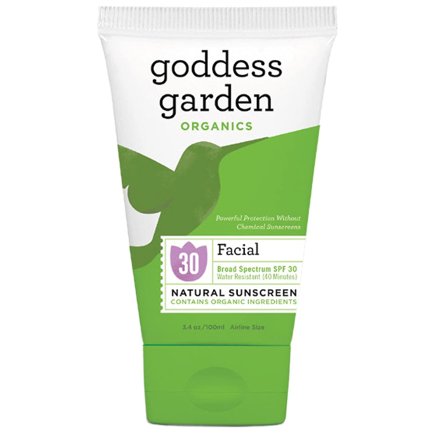 Today's only Selling and selling Goddess Garden Organics Facial Natural 3.4 Sunscreen 30 SPF