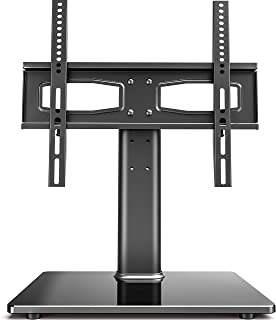 Fitueyes Universal TV Stand Tabletop TV Base with Mount for 27-50 inch Flat Screen Tvs Vizio/Sumsung/Sony Tvs/Xbox One/tv Components Max VESA 400x400 TT104201GB