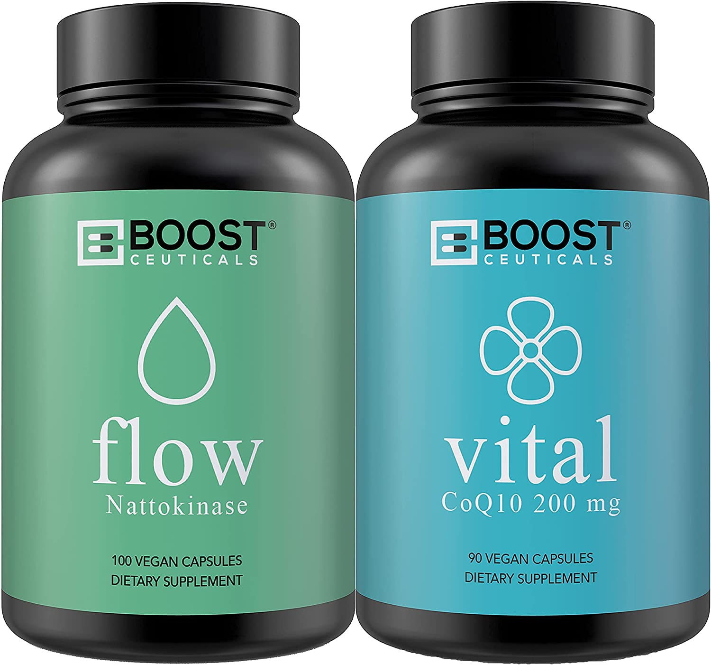 Popular Together BoostCeuticals Nattokinase quality assurance Super intense SALE 100 an 200 4000FU mg