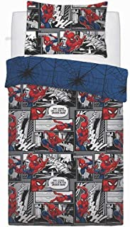 Spiderman Marvel Webs' UK Single Duvet Cover Set