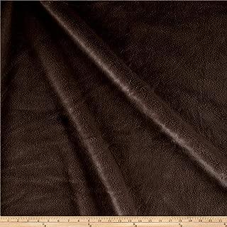 Waverly 0528766 Furocious Faux Fur Brown Bear Fabric by the Yard