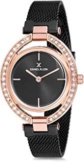 Daniel Klein Womens Quartz Watch, Analog Display and Stainless Steel Strap - DK12194-6