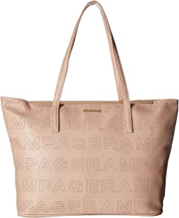Perforated Logo Tote