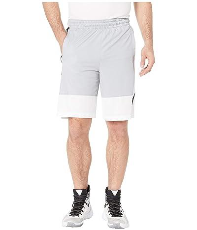 Nike Dry Shorts Asymmetrical (Wolf Grey/White/Black) Men