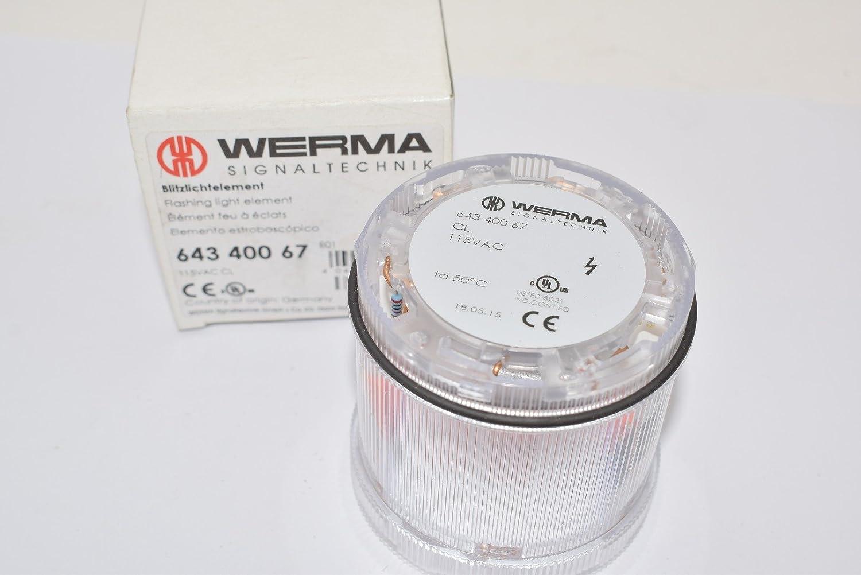 WERMA Surprise price 64340067 Stack Light; KombiSIGN 71; Xenon Flashing E Light Max 67% OFF