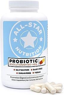 5-in-1 Bio-Heal® Probiotic Capsules for Kids, Men & Women - Best Supplement for Brain Function, Gut Health & Constipation ...