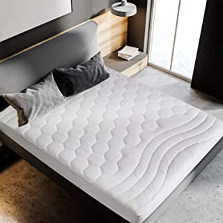 Bedsure Mattress Pad Queen Size(60×80 inches)- Breathable – Ultra Soft..