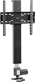 VIVO Motorized TV Stand for 32 to 48 inch Screens | Vertical Lift Television Stand with Remote Control | Compact TV Mount Bracket (MOUNT-E-UP44)