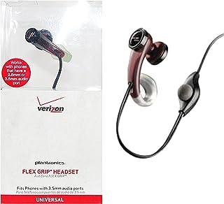 Plantronics MX200 FlexGrip Universal Earbud Headset - 2.5mm & 3.5mm