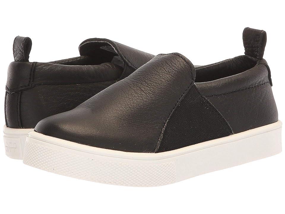 Freshly Picked Slip-On Sneaker (Toddler/Little Kid) (Black) Kid