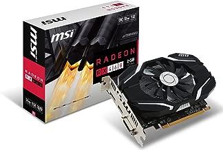 MSI GAMING Radeon RX 460 GDDR5 2GB CrossFire DirectX 12 Graphics Card (RX 460 2G OC) (Renewed)