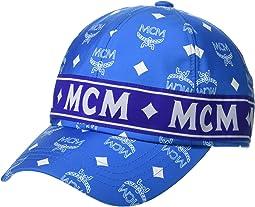 dc0c324dd8a White Logo T. Blue. MCM. Collection Cap
