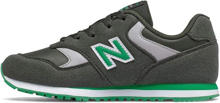 New Balance 393 - Zapatillas deportivas para niño, color verde ...