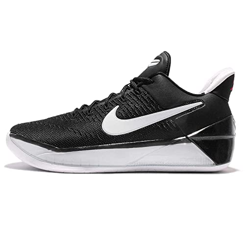timeless design 3fc97 683c4 NIKE Kid's Kobe A.D. GS, Black/White-University RED, Youth Size 4