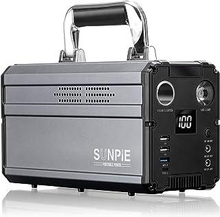 ポータブル電源 大容量60000mAh/330Wh 純正弦波AC (300W瞬間最大500W)/DC/USB/Type-Cなど6WAY出力 三つの充電方法 急速充電QC3.0 ...