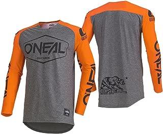 O'Neal Men's Mayhem Lite Jersey (Hexx) (Orange, X-Large)