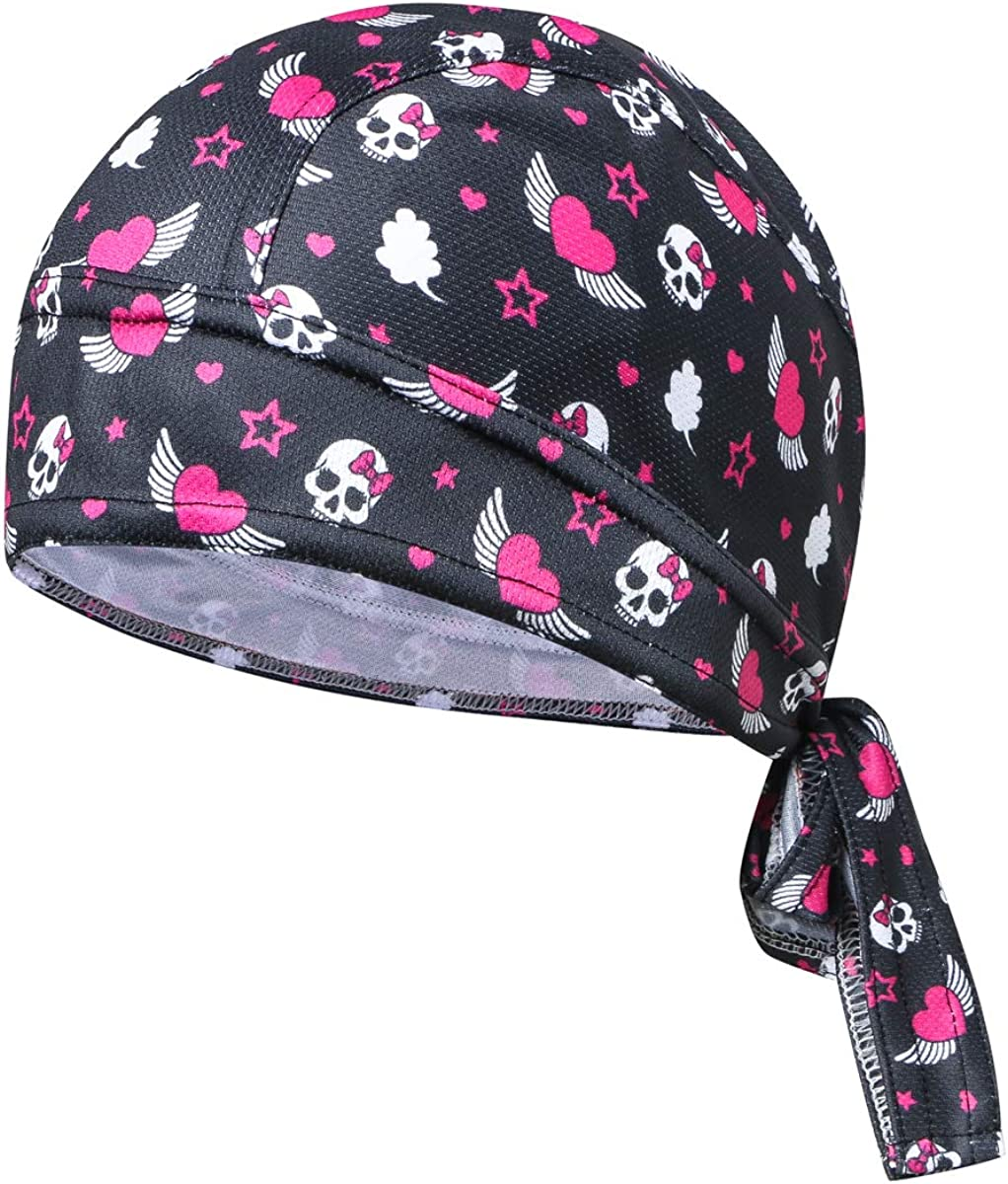 JPOJPO Cycling Hat Wrap Rag Max 57% OFF Sweat Skull Wicking Quick Beanie Cap Deluxe