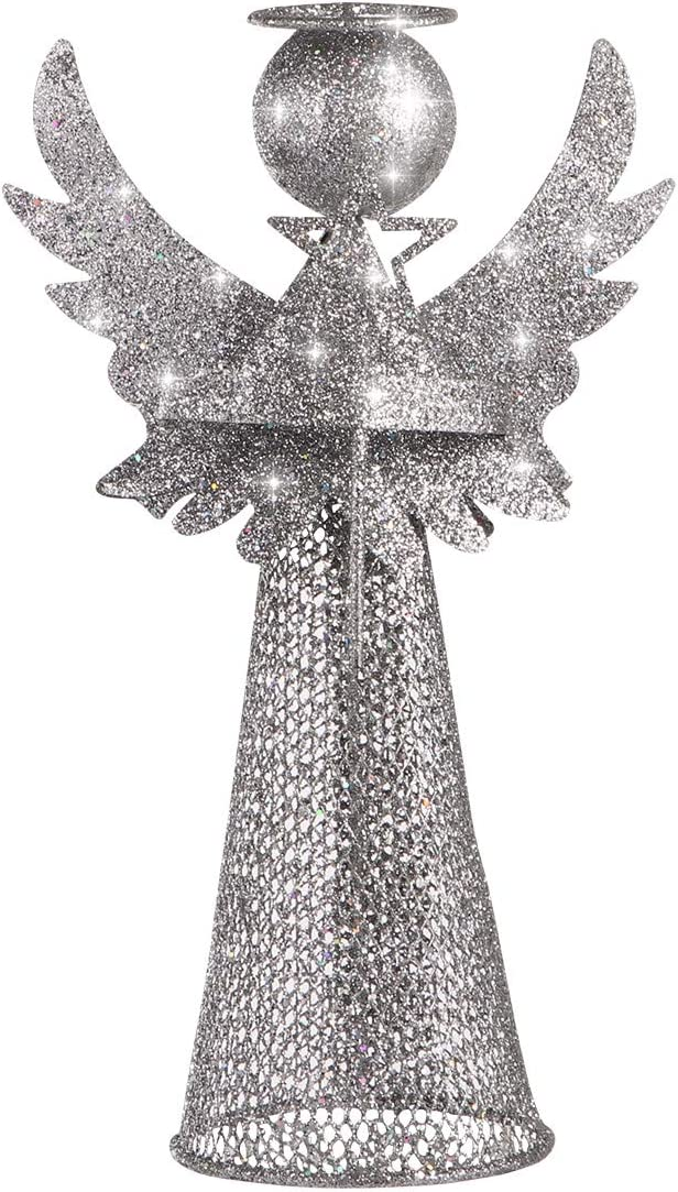Amosfun Christmas Tree Topper Glitter San Diego Mall Chr All items in the store Angel Ornament Treetop