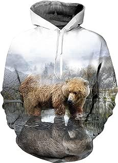 beer bear deer sweatshirt