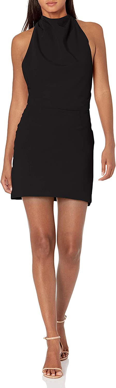 findersKEEPERS Women's Sleeveless Mae Mini Halter Dress