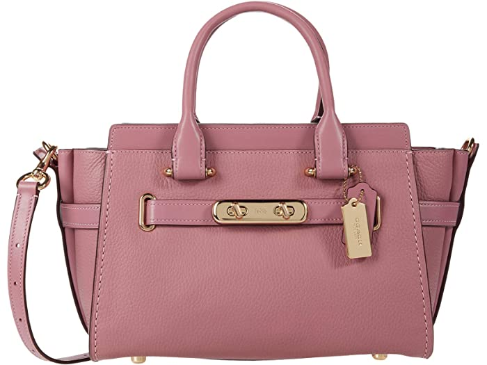 Coach Swagger 27 In Pebbled Leather 6pm