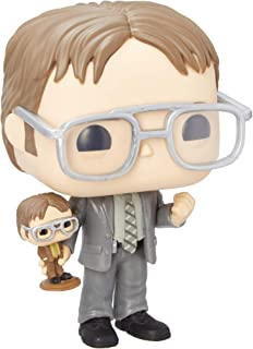 Funko Pop! TV: The Office - Dwight Holding Dwight Figure, Fall Convention Exclusive