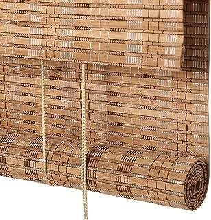 CHAXIA Persiana De Bambú Estor Enrollable Cortina De Bambú Corredor Estudio Durable Hermoso Respirable, 3 Colores, El Tamaño Puede Ser Personalizado (Color : B, Tamaño : 120x180cm)