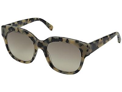 Stella McCartney SC0007S (Vintage Havana/Grey) Fashion Sunglasses