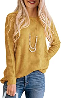 Best mustard color women's sweater Reviews