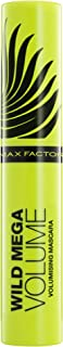Max Factor Wild Mega Volume Volumising Mascara - Black, 0.37 oz.