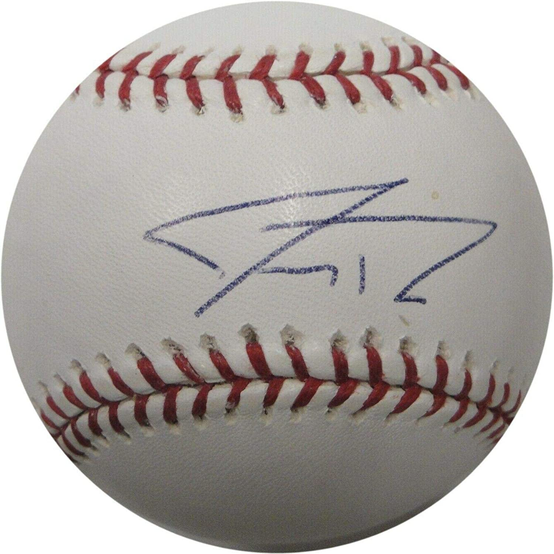 Jeremy Reed Signed Ball  Major League  Autographed Baseballs