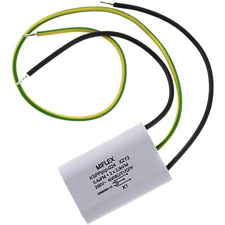0,4UF kondensator 0,4µF+2x2500pF 250V Funkentstörkondensator  für HILTI NEUWARE