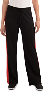 Seek No Further by Fruit of the Loom womens Mid-Rise Track Pants Casual Pants