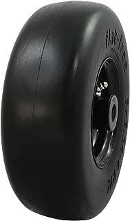 MARASTAR 00214 Universal Fit Flat Free 9X 3.50-4 Lawnmower Tire Assembly