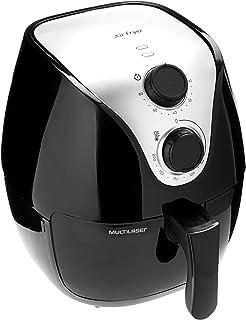 Fritadeira Elétrica Air Fry Gourmet, 110 V, 4 Litros, Preta, Multilaser