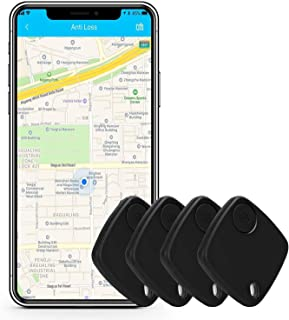 $45 » Key Finder Smart Tracker - Bluetooth Key Finder Locator with App for Phones Purse Keychain Bag Luggage - Anti-Lost Phone F...