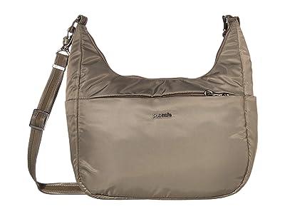 Pacsafe Cruise All Day Crossbody (Ashwood) Handbags