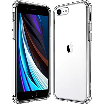 Mkeke Compatible with iPhone SE 2020 Case, iPhone 8 Case, iPhone 7 Case Clear Cases for iPhone SE 2nd Generation, iPhone 8 and iPhone 7