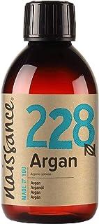 Naissance Huile d'Argan du Maroc (n° 228) - 250ml - 100% pure et naturelle, végane, sans hexane et sans OGM - anti-âge et ...