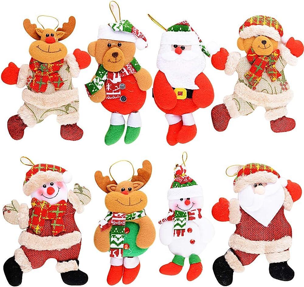 Mejoser 8 pezzi addobbi natalizi da appendere MEJOSER